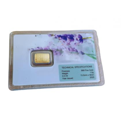 6th Scents Gold Bar 1 gram Lavendar | Jongkong emas