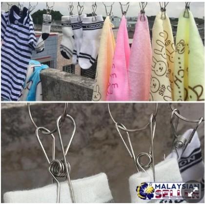 5pcs Clothes Laundry Hanger Clip, Sepit boleh gantung