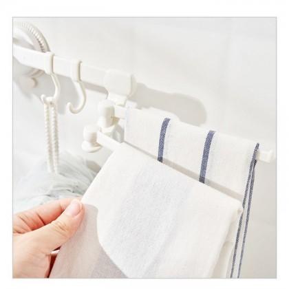 Multi-purpose Hanger With Hook Shelf Shower Rack