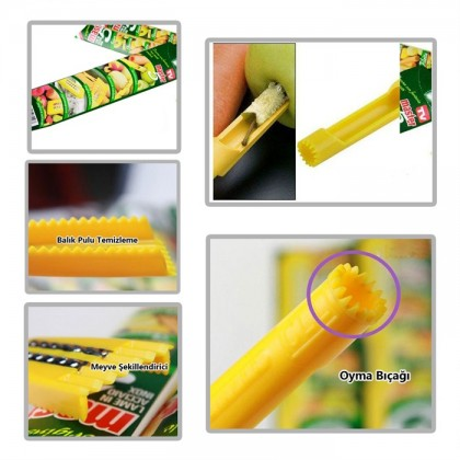 Multi-Function Peeler 5 in 1 Master Fruit & Vegetable Peeler
