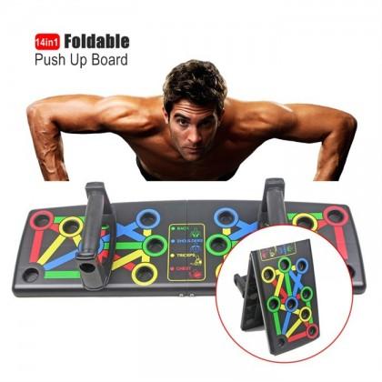Foldable Push Up board Push Up bar Rack Board 14 in 1 Board