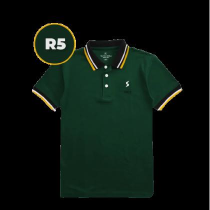LEON Blue Label Polo T-Shirt R Edition - R5 Evergreen