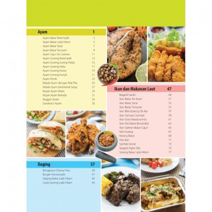 Buku 77 Resipi Istimewa AIR FRYER - Chef Hanieliza
