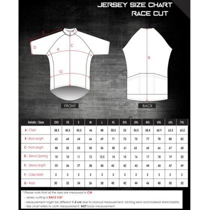 Jersi Basikal Turquoise Clairo Pro Apparel Cycling Jersey Race Cut