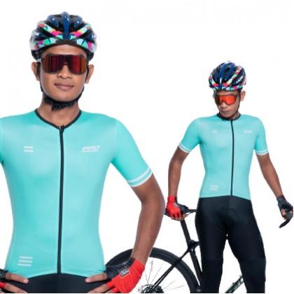 Jersi Basikal Hijau Cair- Bianchi Alpha Pro Apparel Cycling Jersey Race Cut