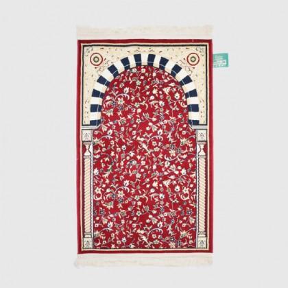 Sejadah Rawdha 012 Merah Tebal 6mm - Red Praying Rug